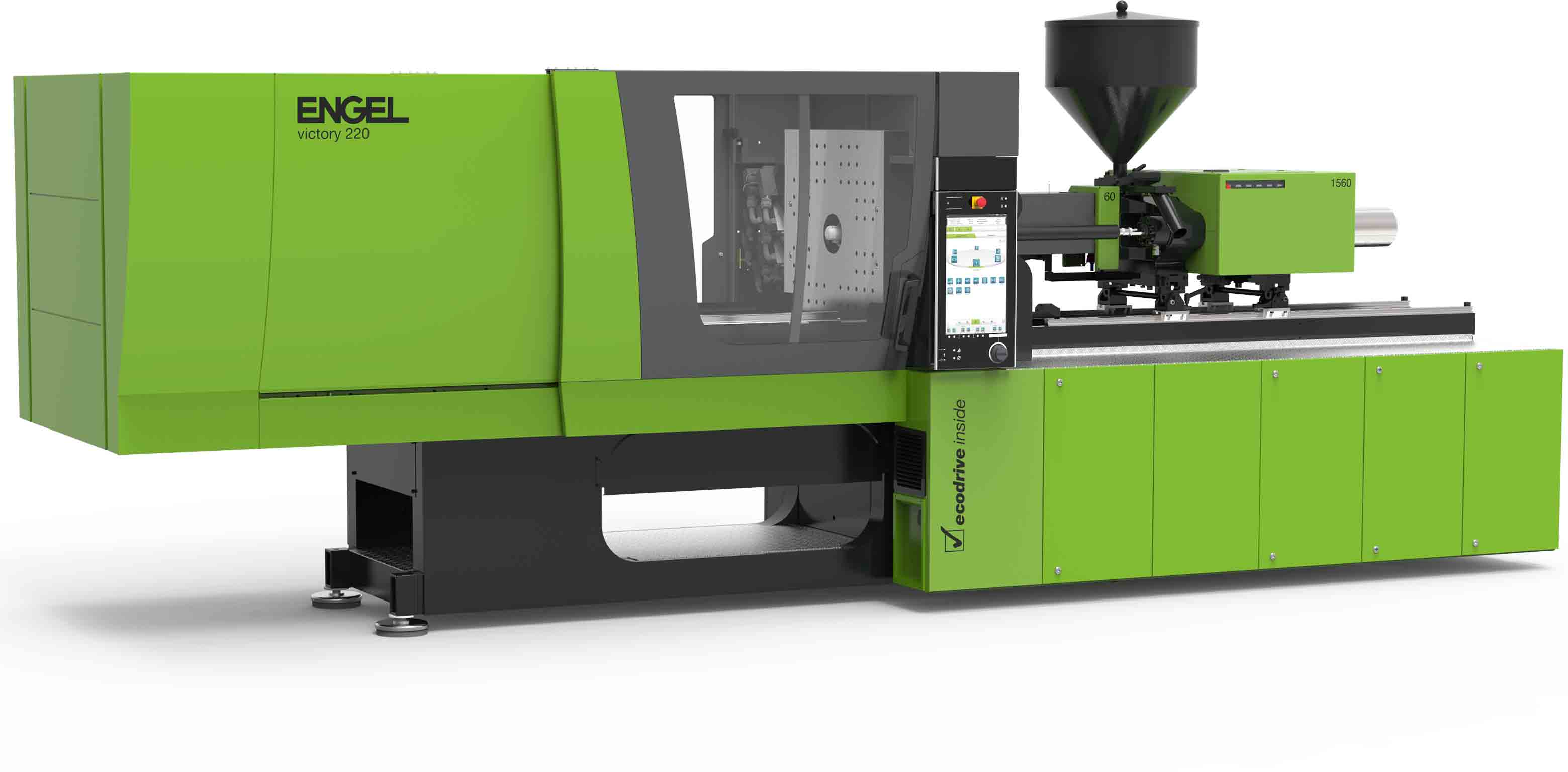 Fully Hydraulic Injection Molding Machine by ENGEL