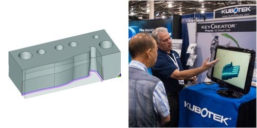 KeyCreator 2014 CAD software