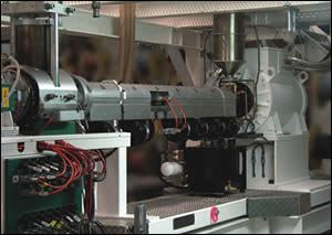 Kuhne's 72-mm high-speed extruder