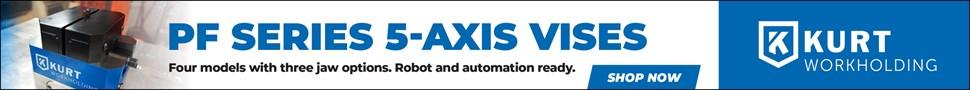 PF Series 5-Axis Vises