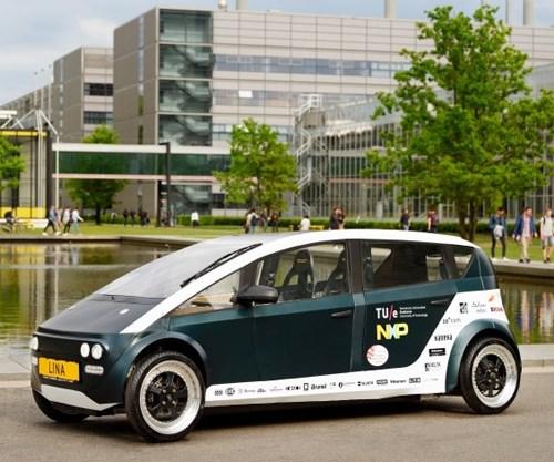 Lina bio-based car composites tu/ecomotive