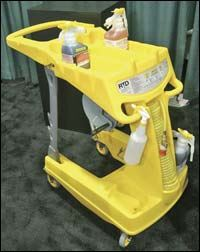 LLDPE cleaning cart