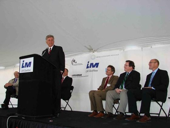 LM Arkansas facility opening