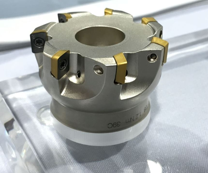 "LMT USA ""mini"" hi-feed milling tool"