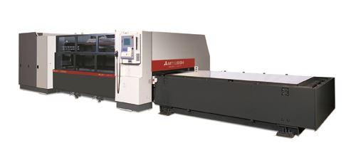 Mitsubishi laser cutting system