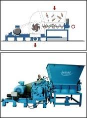 Largest force-fed granulator for PET bottles