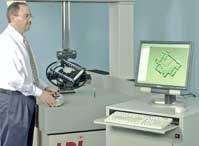 Laser Design's laser scanner