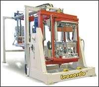 Leonardo 'ovenless' carousel press