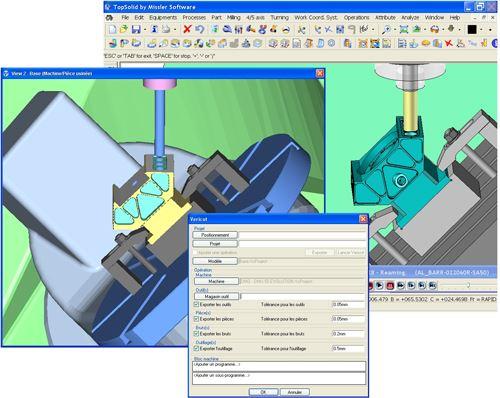 Missler, CGTech simulation interface