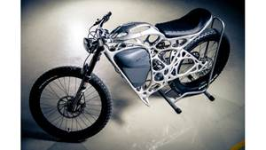Lightweight Motorcycle Made Through AM to Be Seen at IMTS