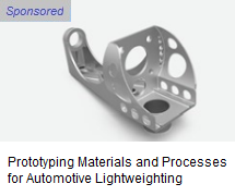 Prototyping for automotive lightweighting