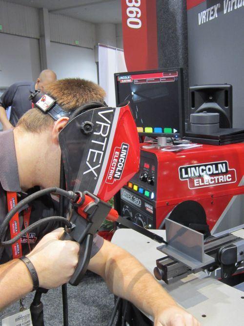 Lincoln Electric's VRTEX welding simulators