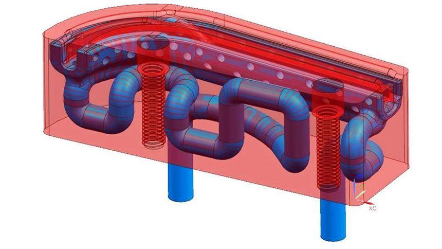 conformal cooling insert