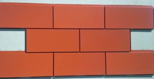 Linetec terra cotta paint finish