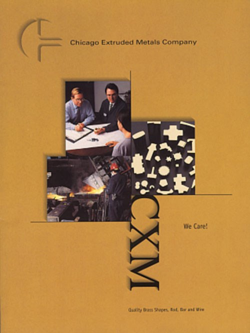 CXM Extruded Brass Shapes brochure