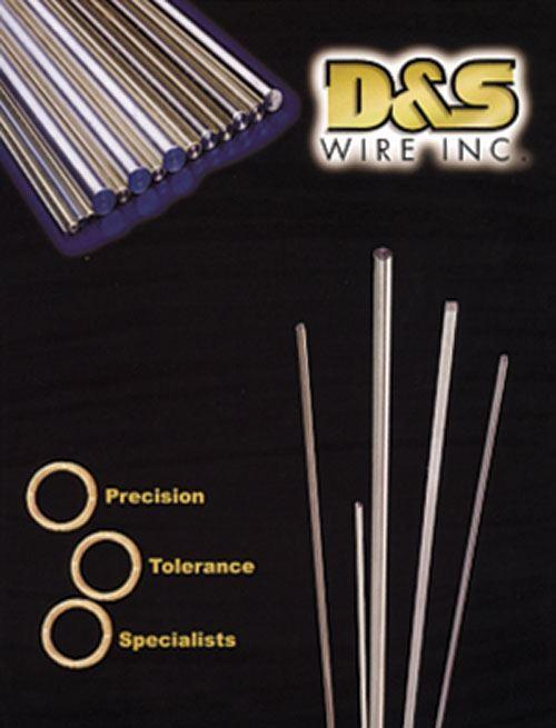 D&S close-tolerance wire brochure