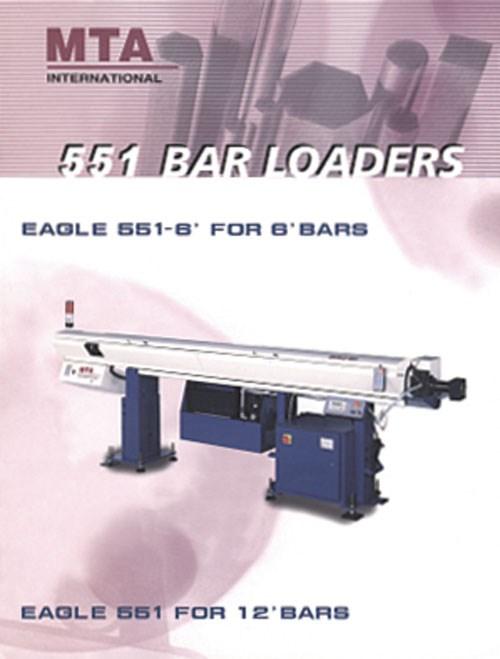 MTA Eagle 551 bar feeder brochure