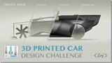 Design a Car for 3D Printing. See It Made Live. (If You Win)