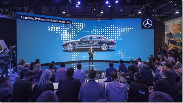 Mercedes-Benz Press Conference at CES 2018