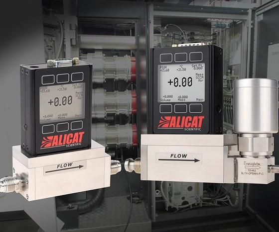 Alicat Scientific's mass flow controllers