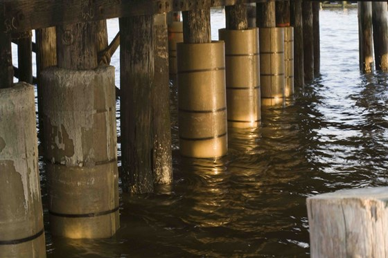 On The Waterfront Composite Marine Piles Build On Success