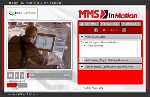 MMS InMotion -- MFG.com