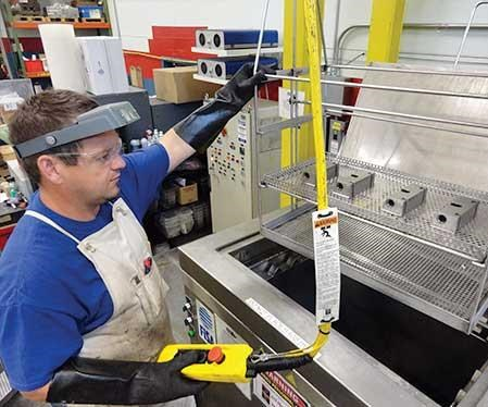 ultrasonic mold cleaning