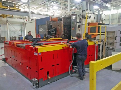Align Production Systems Airfloat quick mold-change system