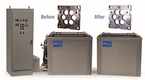 Blue Wave ultrasonic cleaning system