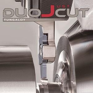 Tungaloy DuoJust-Cut Swiss Turning Insert