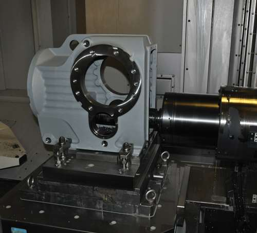 Horn groove milling tool