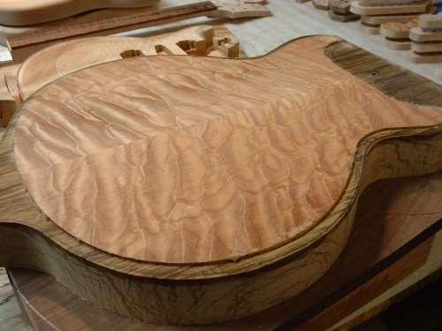 Thorn guitar inlaid body