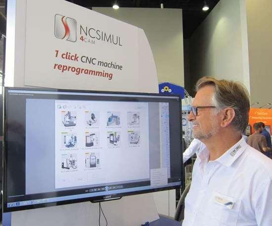 Spring Technologies NCSIMUL CAM
