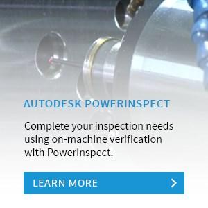 Autodesk PowerInspect: On-machine verification