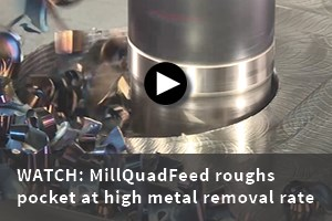 Tungalow MillQuadFeed high feed cutter video
