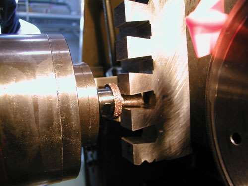 CBN grinding tool finishes slot profile