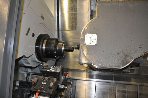 Mori Seiki MT2000 turn-mill machine