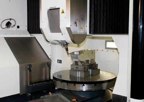 Linear-motor five-axis machine