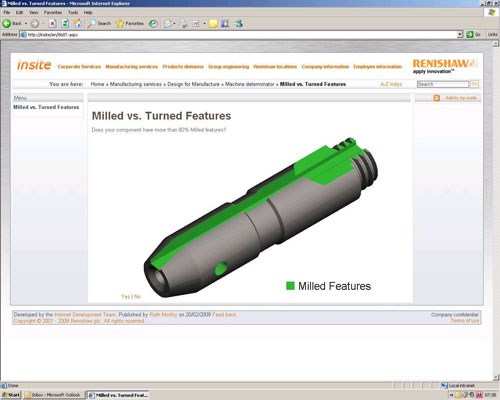 Machine tool selection software