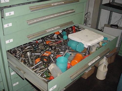 unorganized tools
