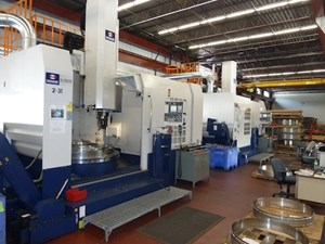Sterling Engineering's two Honor Seiki VL-160CM vertical turning lathe
