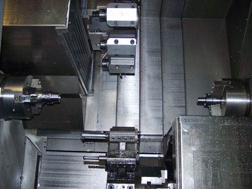 multi-spindle turn-mill machine