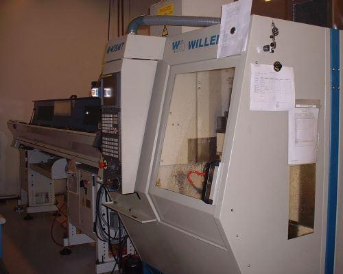bar-fed machining center