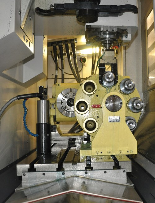 Robotic gripper for machine tools