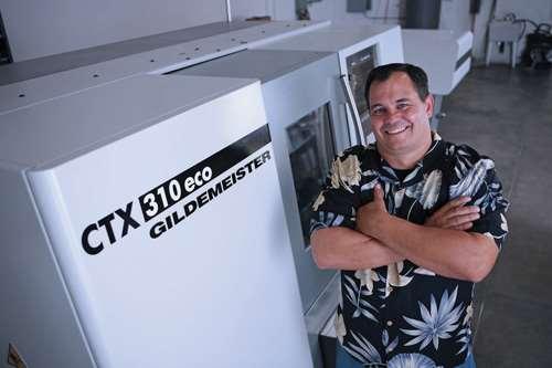 CTX 310 ECO V3 turn-mill