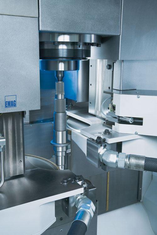Emag vertical grinding machine dual wheels CBN