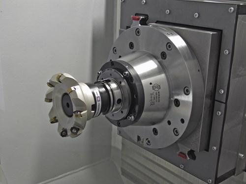Hydromat Icon rotary transfer machine, machining station