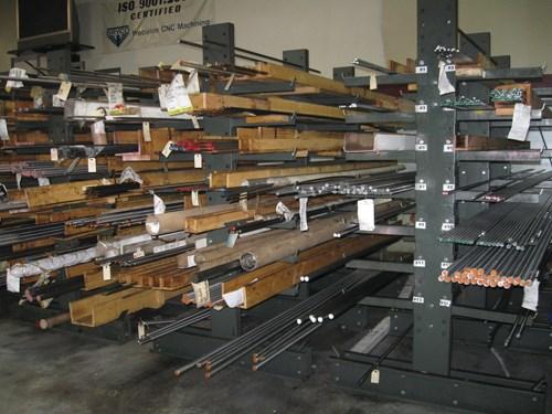Bar stock rack