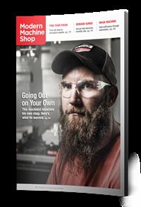August Modern Machine Shop Magazine Issue