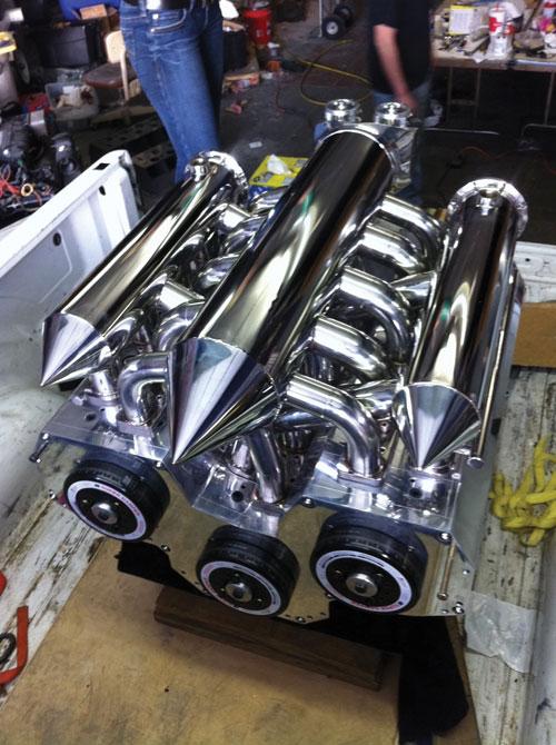 wankel boat engine
